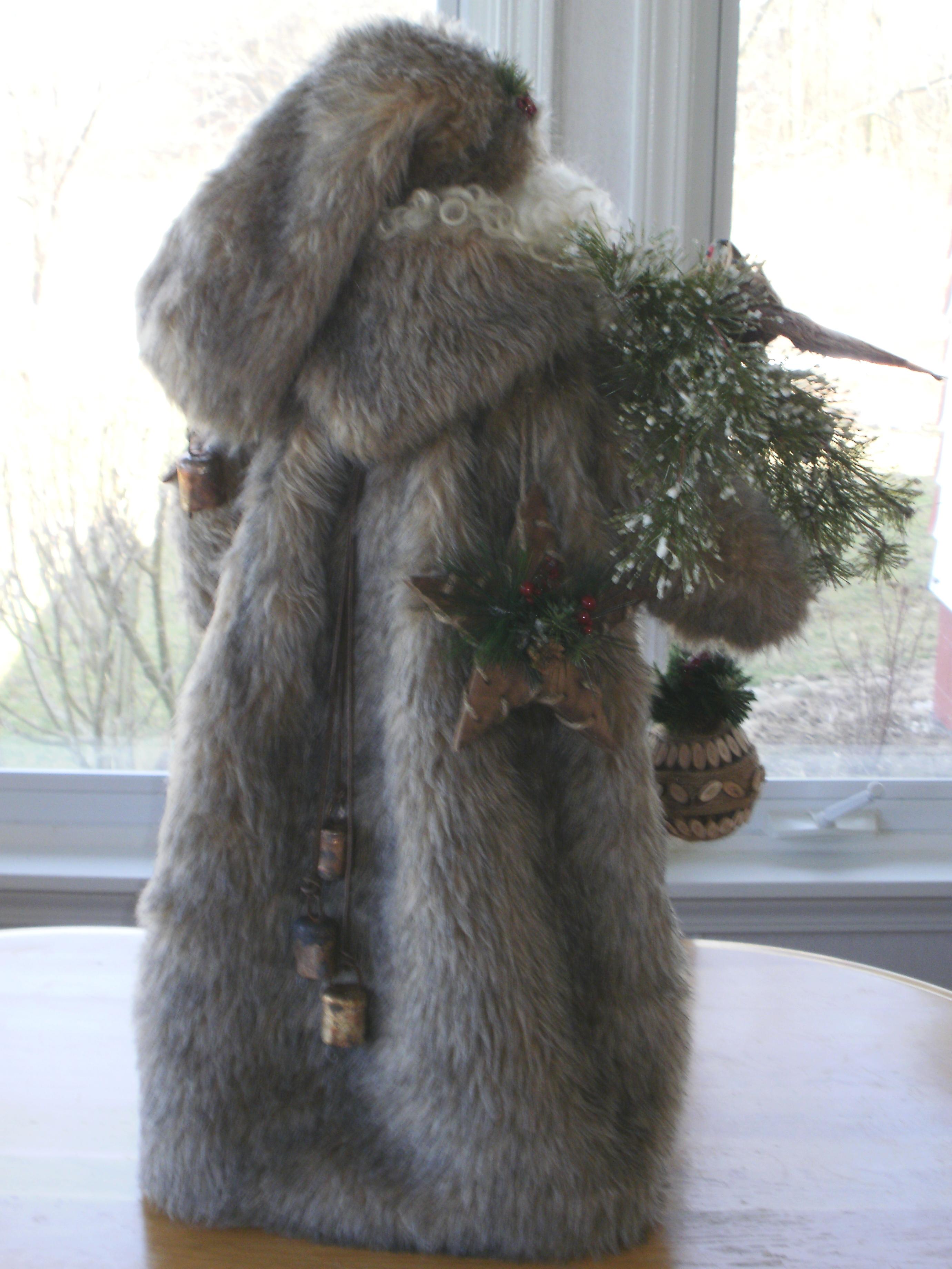 Porcelain Santa Creations: Woodland Santas » Woodland Santas
